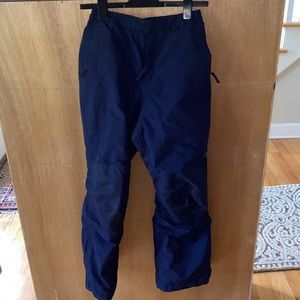 Lands End girls snow squall pants 14/navy